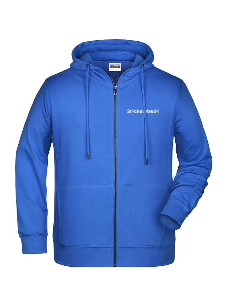 Hoodie blau mit Logo