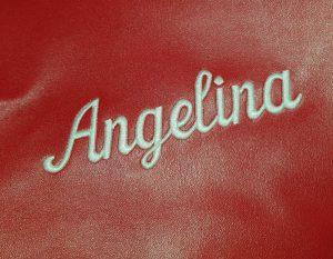 Namensstick Angelina