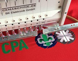 CPA-Logo bestickt