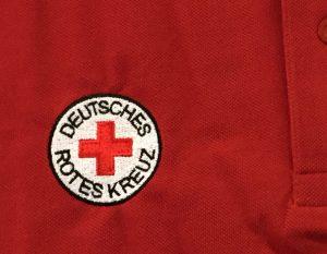 Polo-Shirt bestickt Deutsches Rotes Kreuz