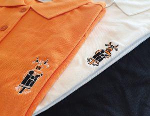 Bruststick Polo-Shir