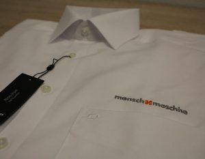 Olymp-Hemd bestickt mit Logo